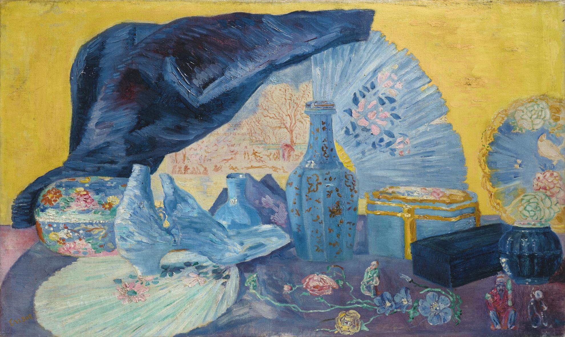James Ensor-Harmonie En Bleu-1919