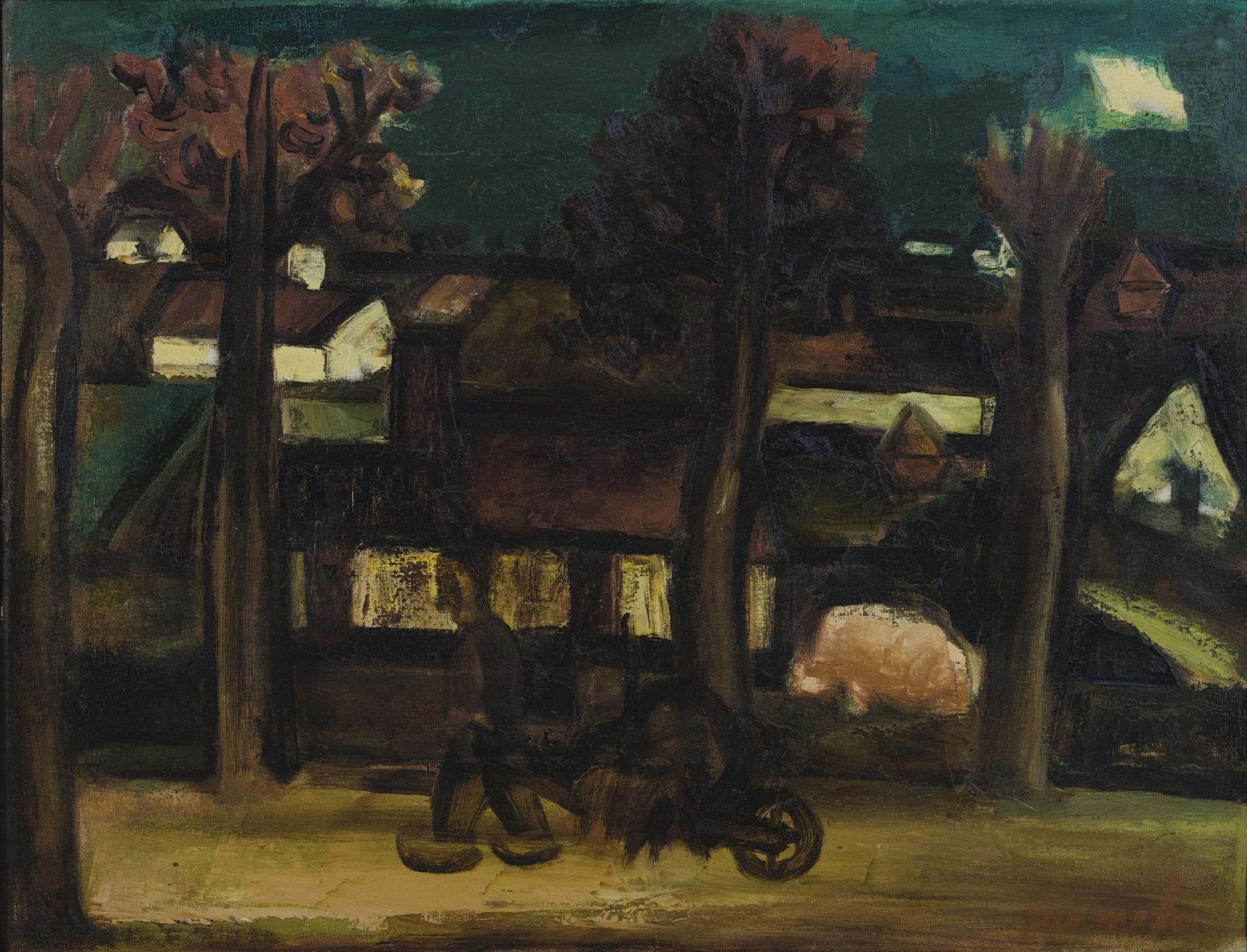 Constant Permeke-Le Village-1936