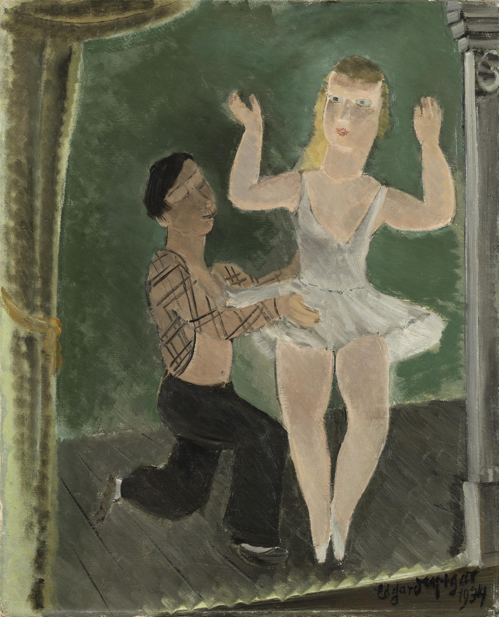 Edgard Tytgat-Clair De Lune Sur Lalster-1934