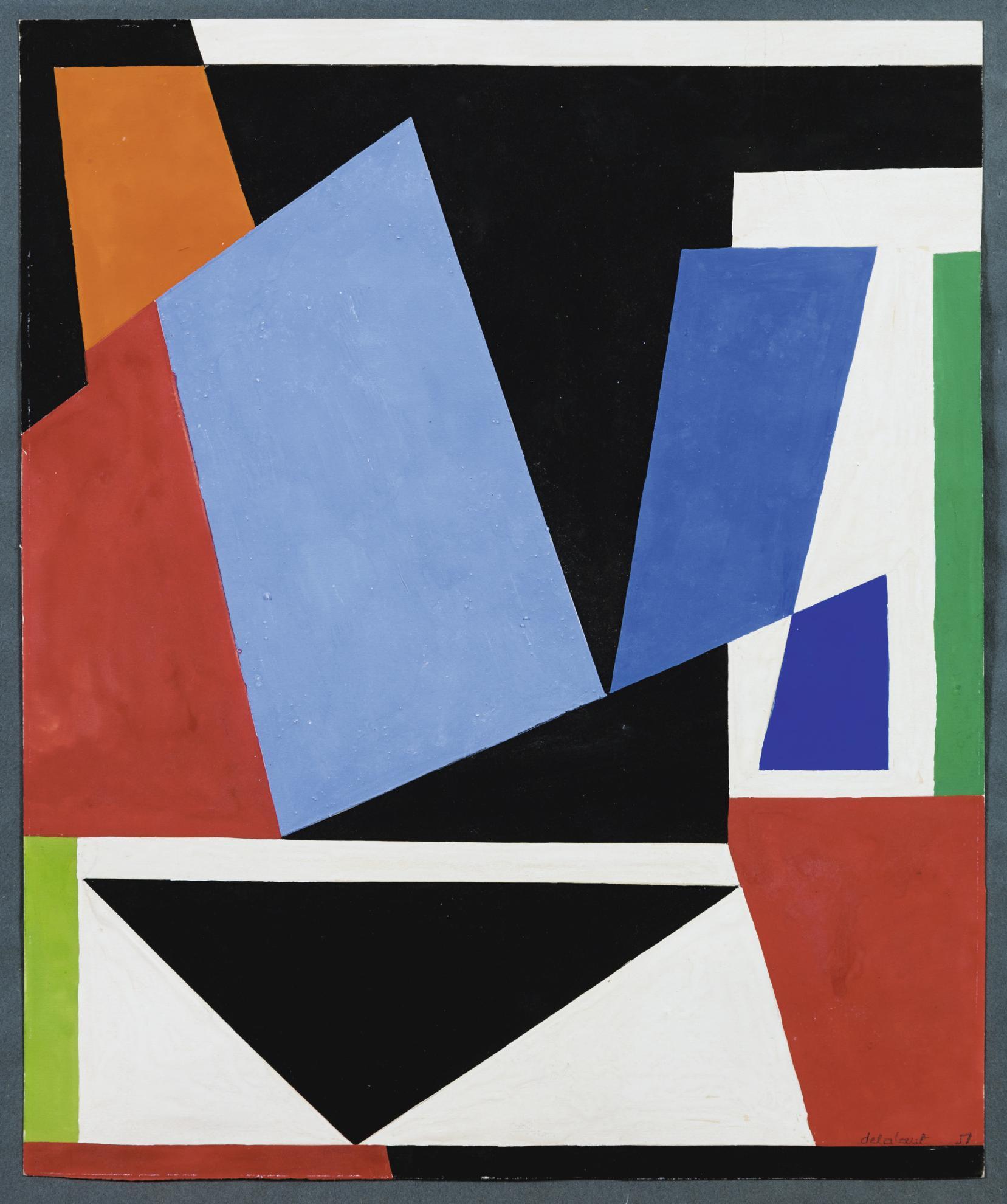 Jo Delahaut-Composition-1951