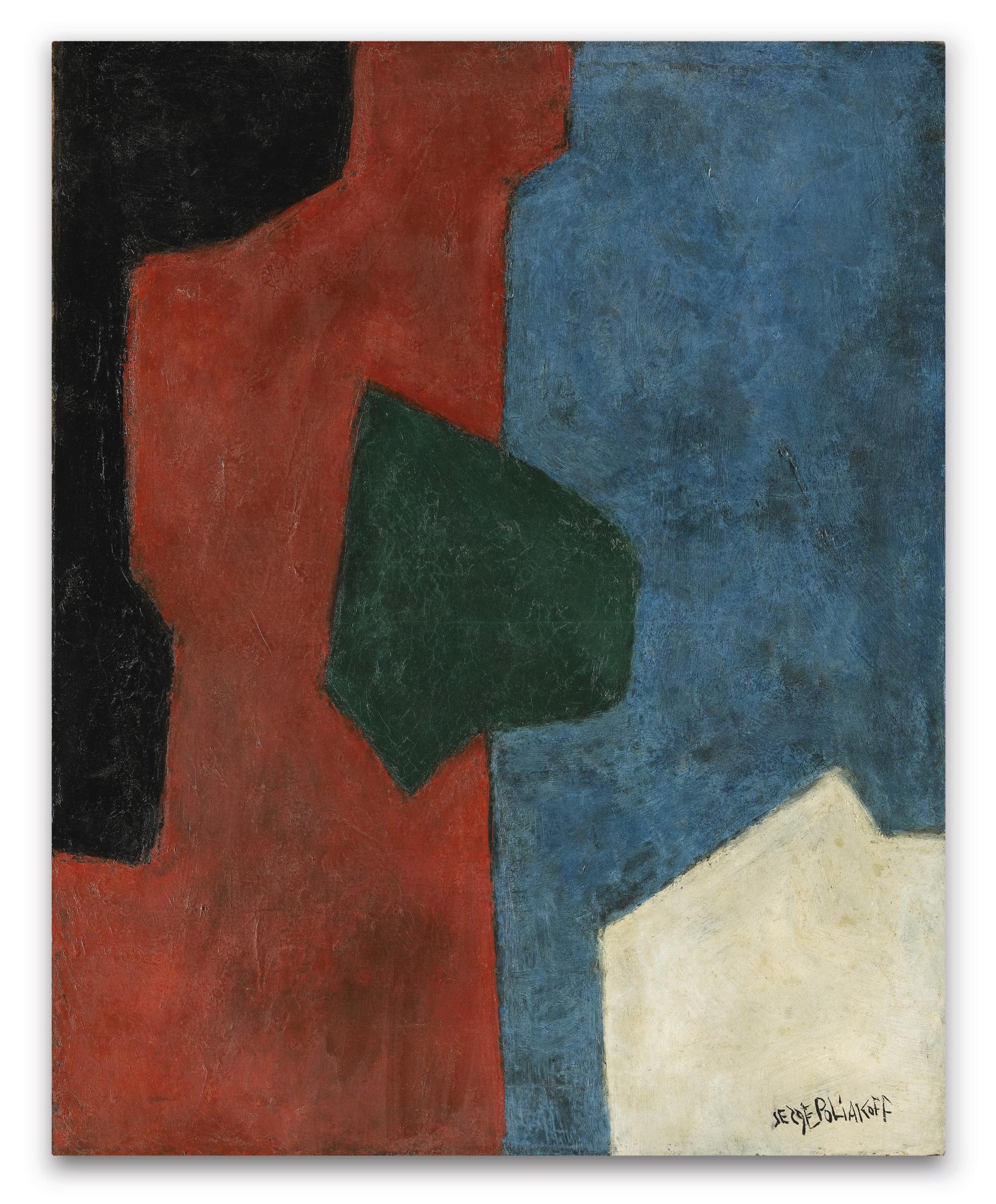 Serge Poliakoff-Composition Abstraite-1961
