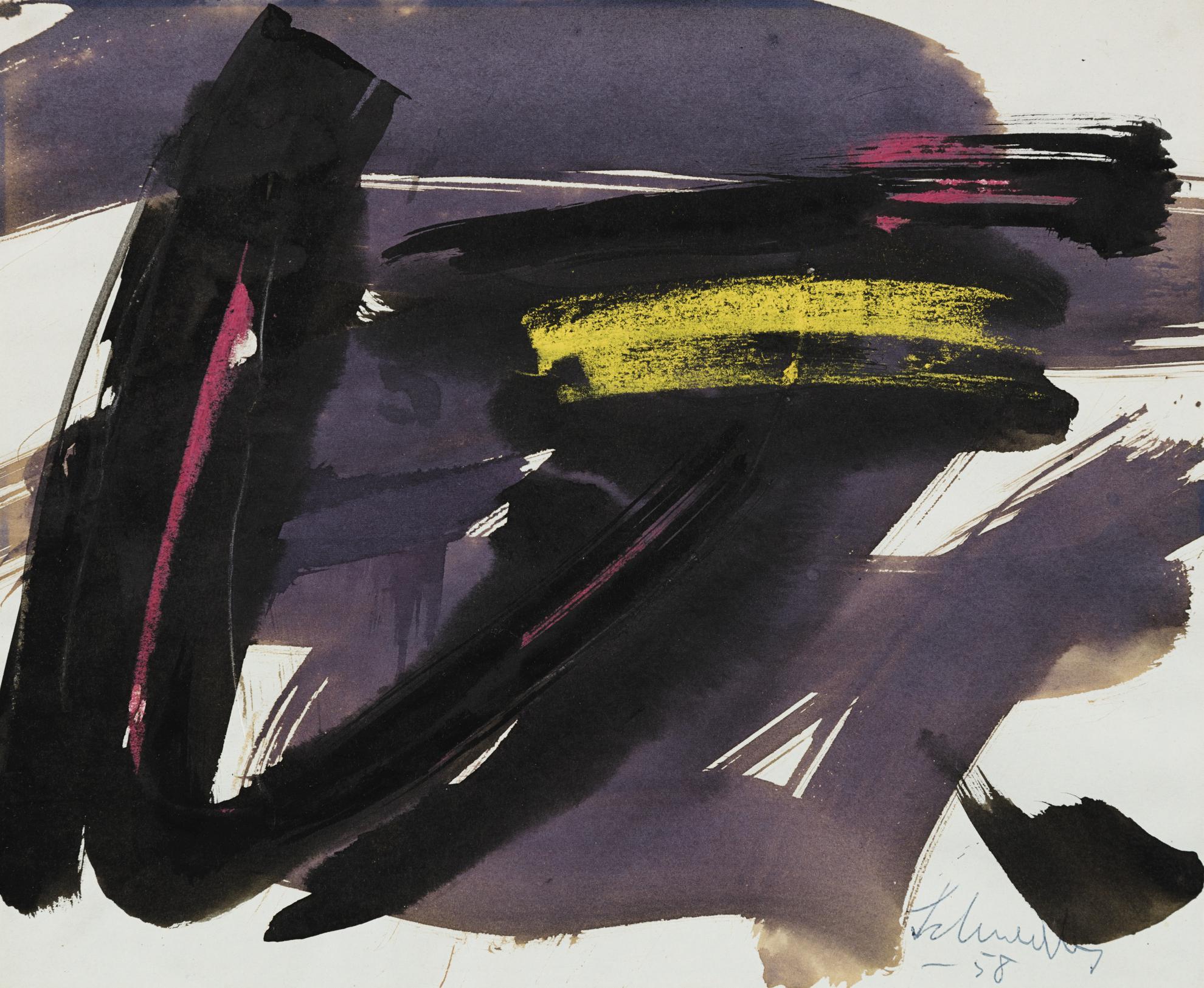 Gerard Ernest Albert Schneider - Composition-1958