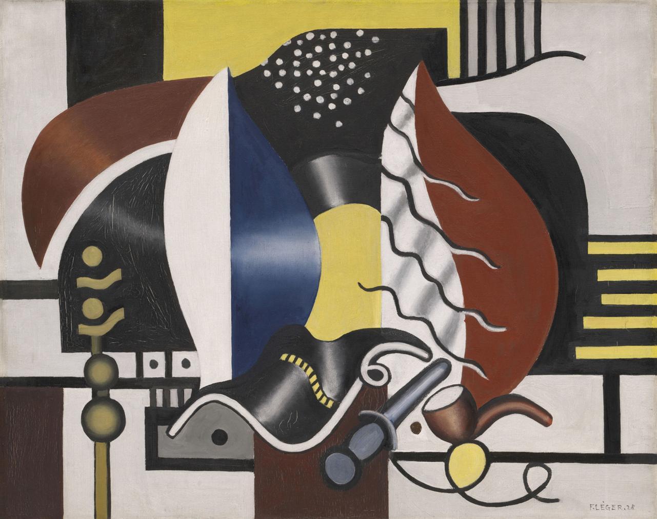 Fernand Leger-Nature Morte-1928