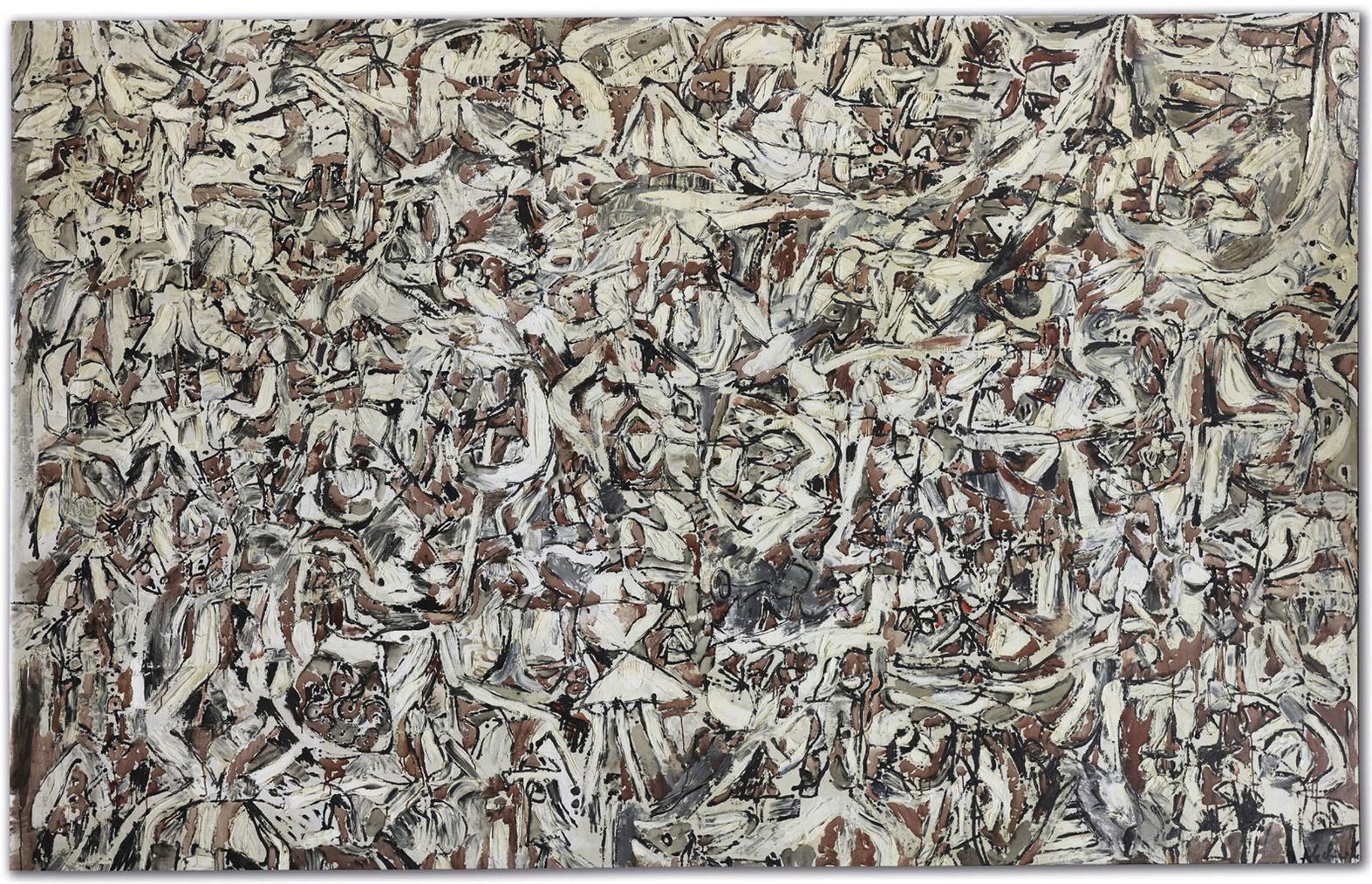 Pierre Alechinsky-Mur Doiseaux-1958