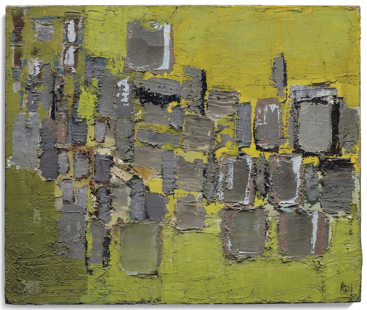 Nicolas de Stael-Paysage-1952