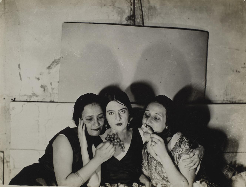 Constantin Brancusi-Irene, Eileen Lane Et Lizica Codreano, Atelier De Brancusi-1922