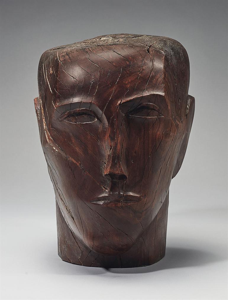 Ossip Zadkine-Tete Dhomme-1928