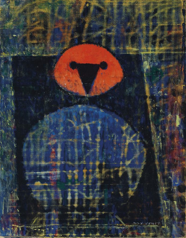 Max Ernst-Sans Titre-1958