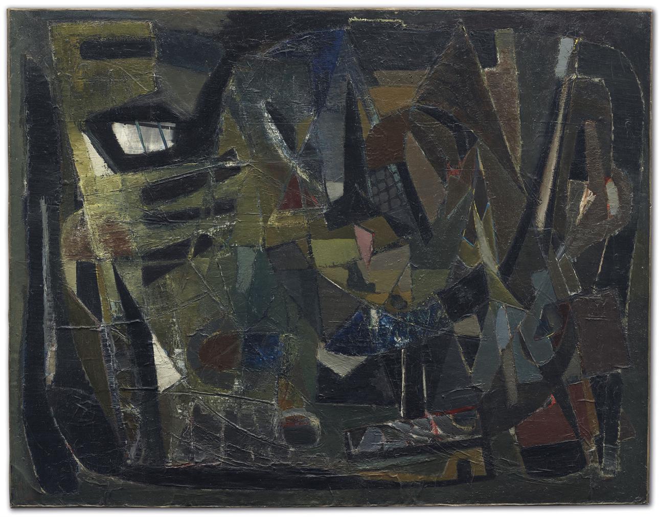 Nicolas de Stael-La Part Du Vent-1945