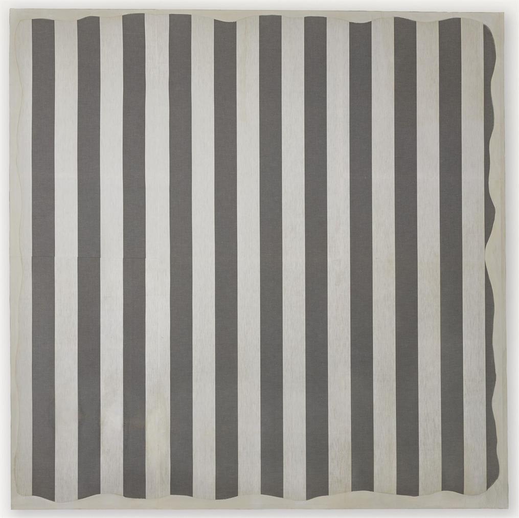 Daniel Buren-Peinture Aux Formes Variables-1966