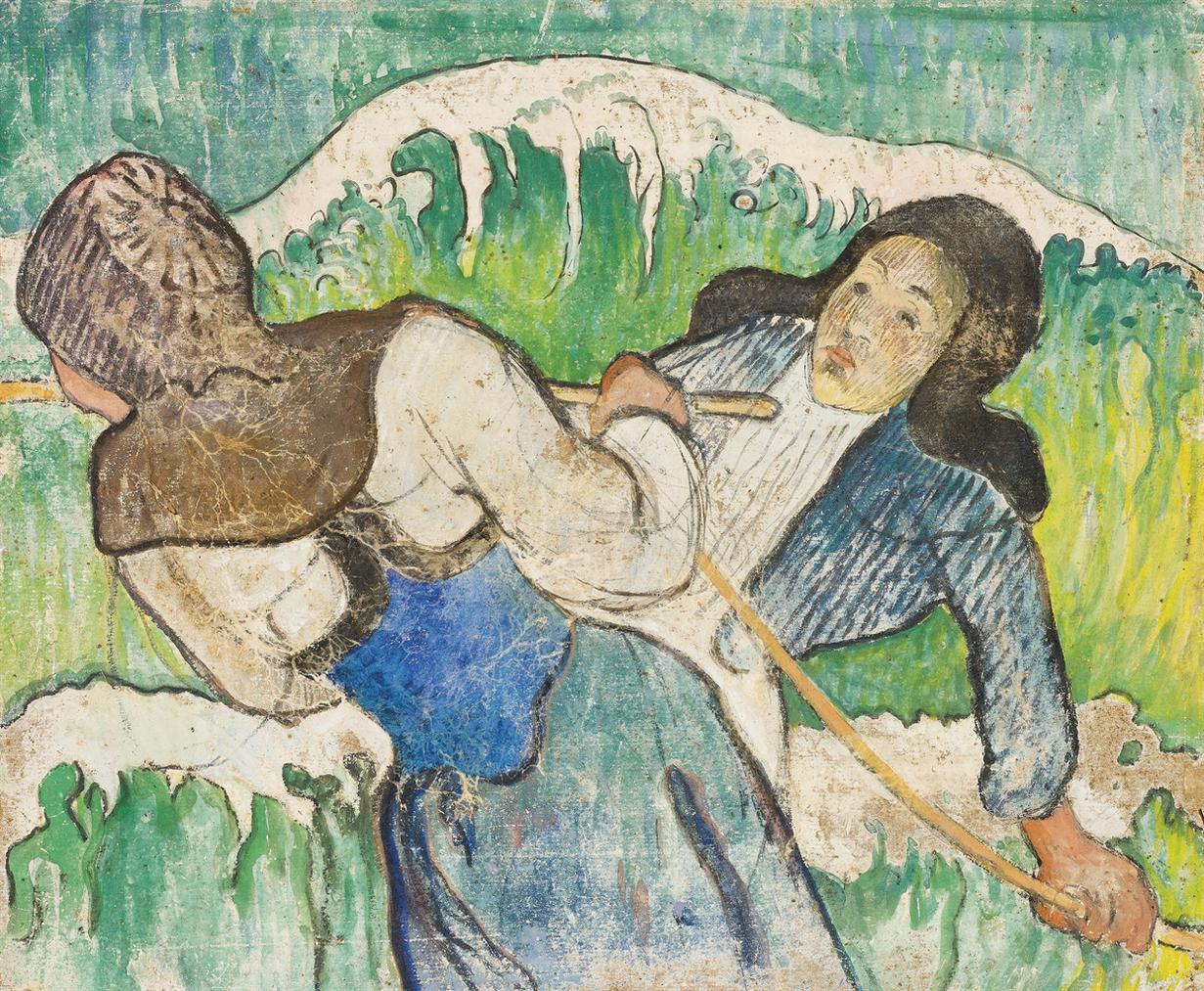 Paul Gauguin-Les Pecheuses De Goemon-1888