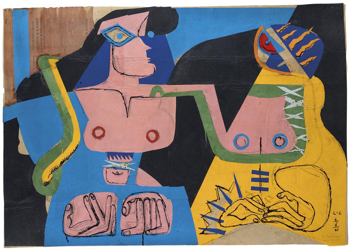 Le Corbusier-Deux Femmes Fantasques-1961