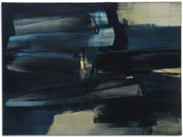 Pierre Soulages-Peinture 97 X 130 Cm, 5 Juin 1962-1962