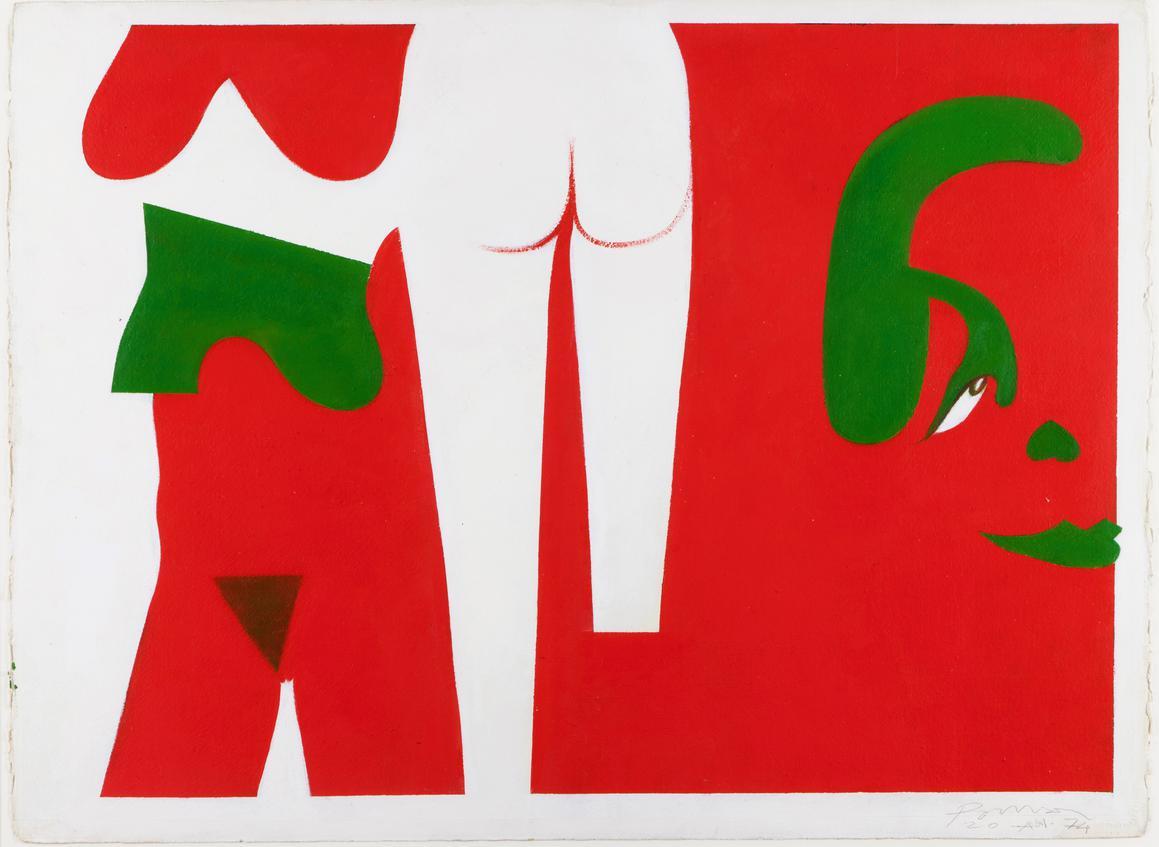 Julio Pomar-Dun Point A Lautre-1974