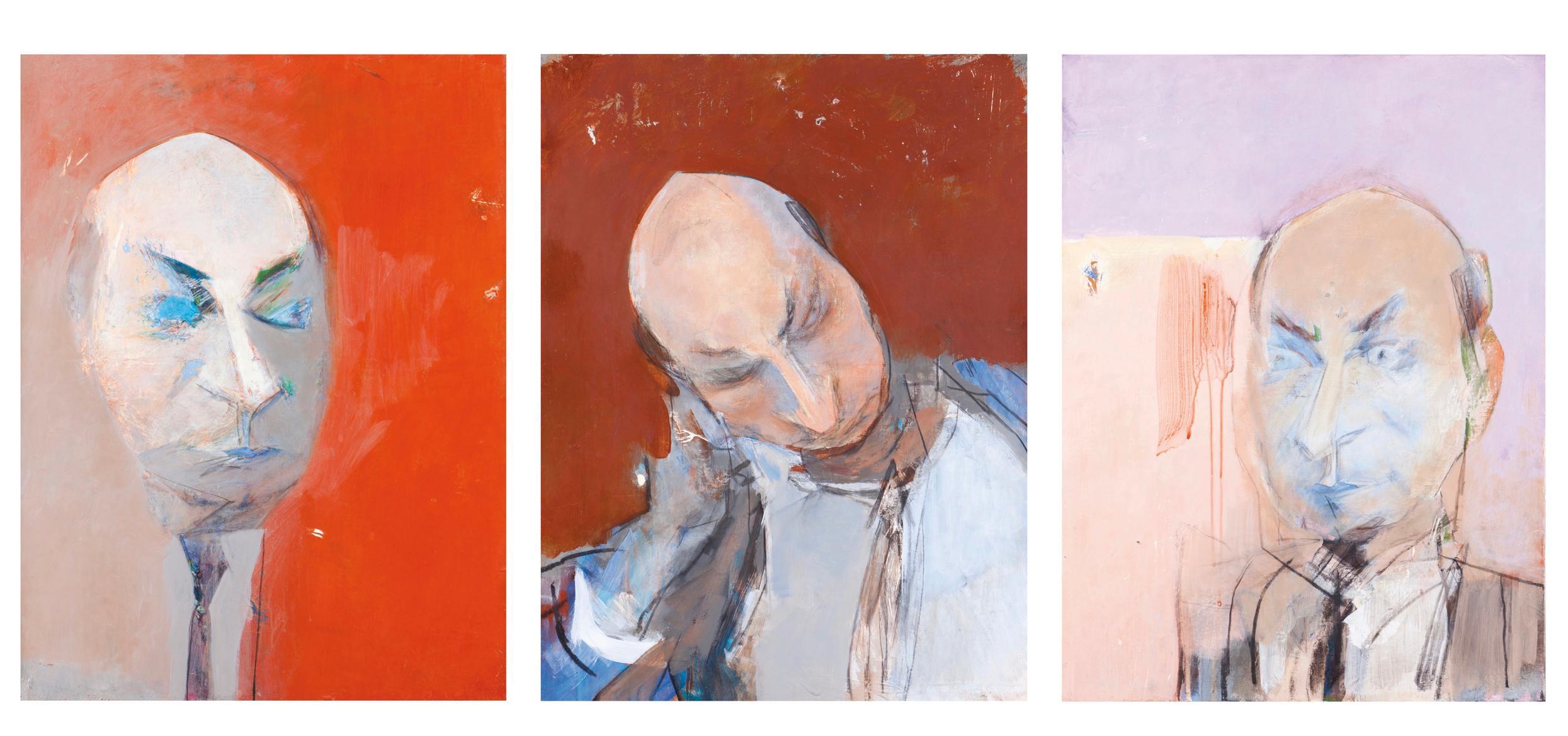 Julio Pomar-Portrait De Claude-Michel Cluny-1991