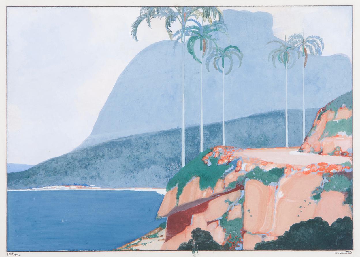 Jorge Barradas - Untitled (Rio De Janeiro)-1923