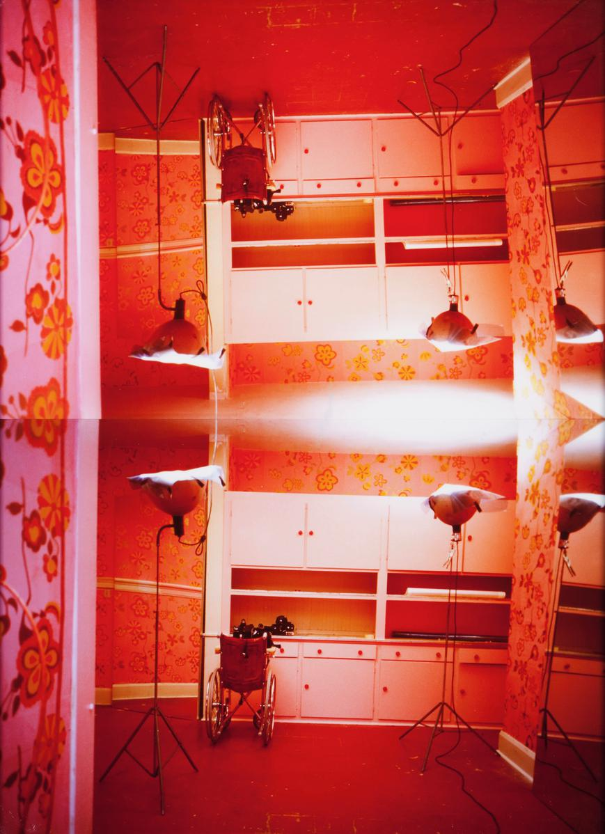 Rachel Khedoori - Untitled (Pink Room #5)-2001