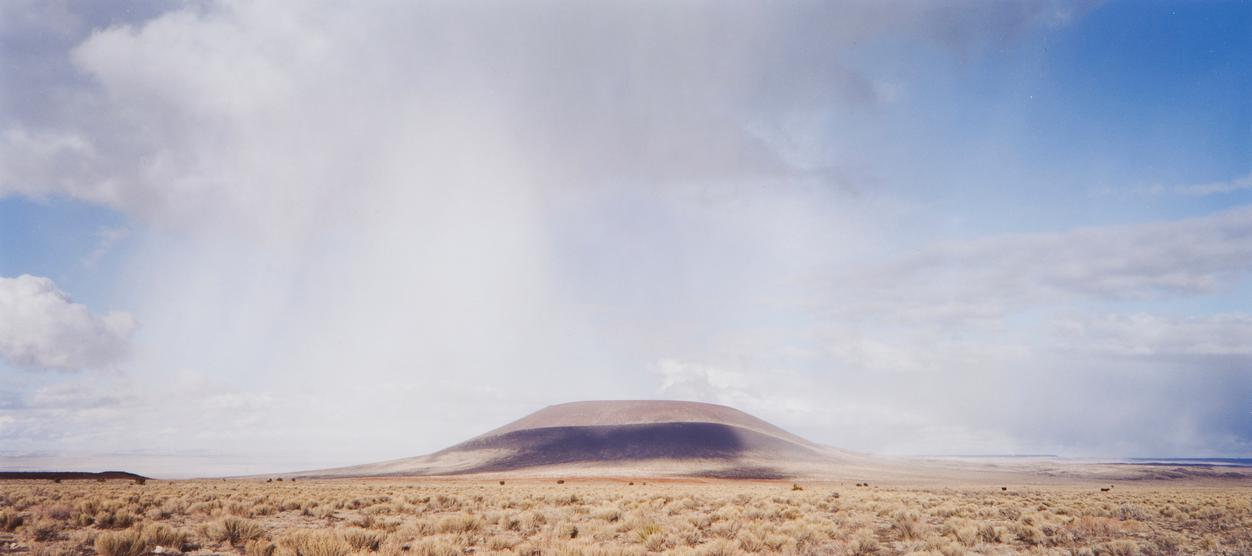 James Turrell-The Roden Crater (View From The Southwest), 2001/2002-