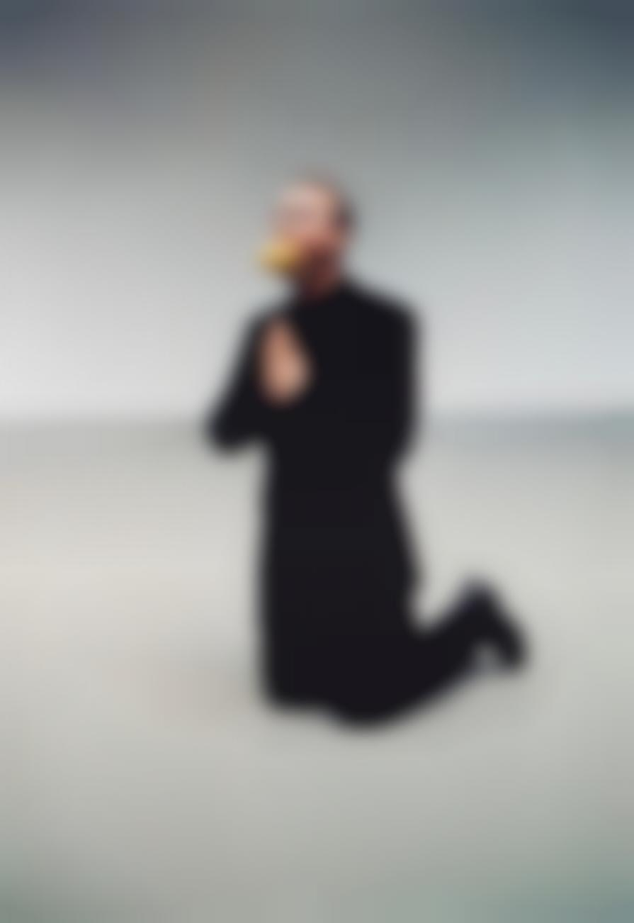 Erwin Wurm-The Artist Begging For Mercy (Dedicated To Maurizio)-2002
