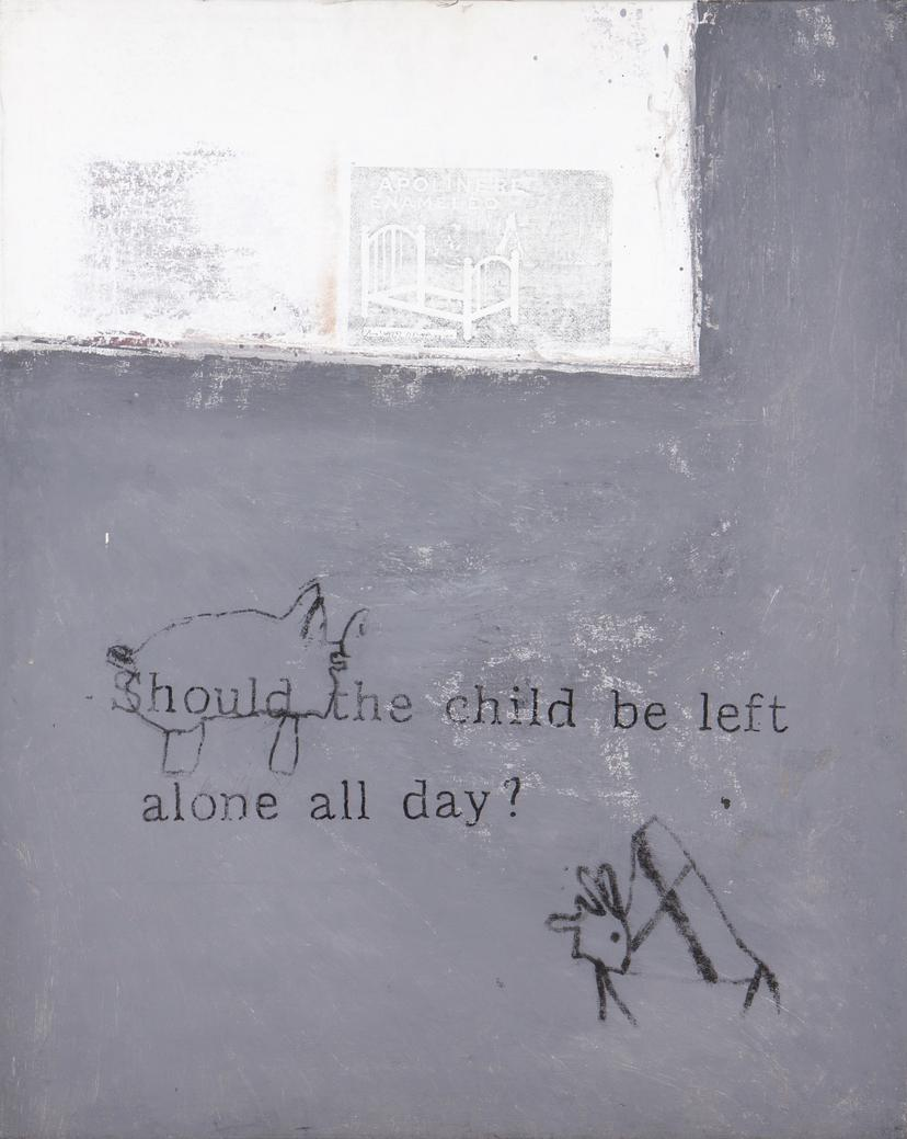 Joao Louro-Should The Child Be Left Alone All Day?-1990