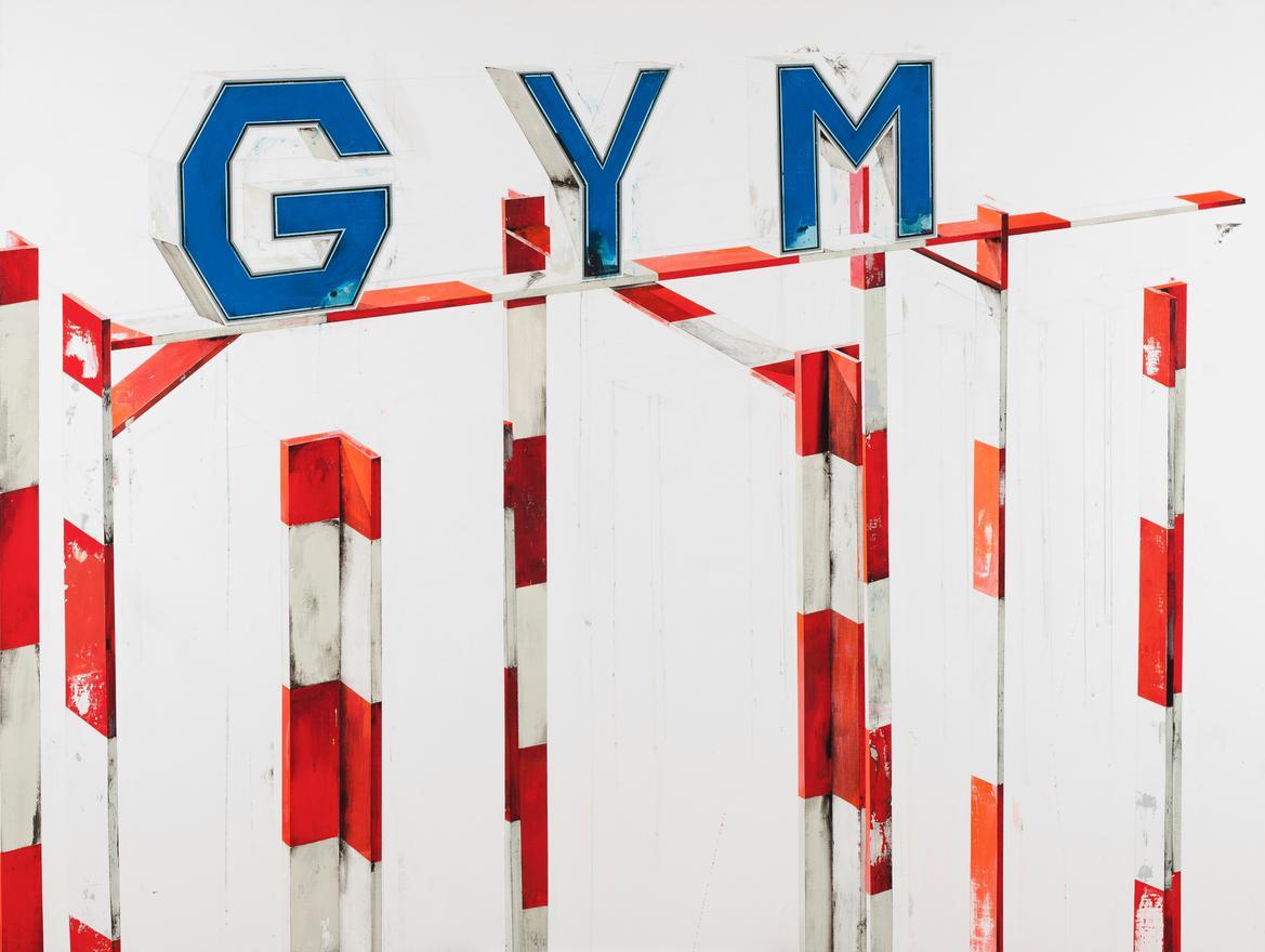 Manuel Caeiro-Gym #2-2009