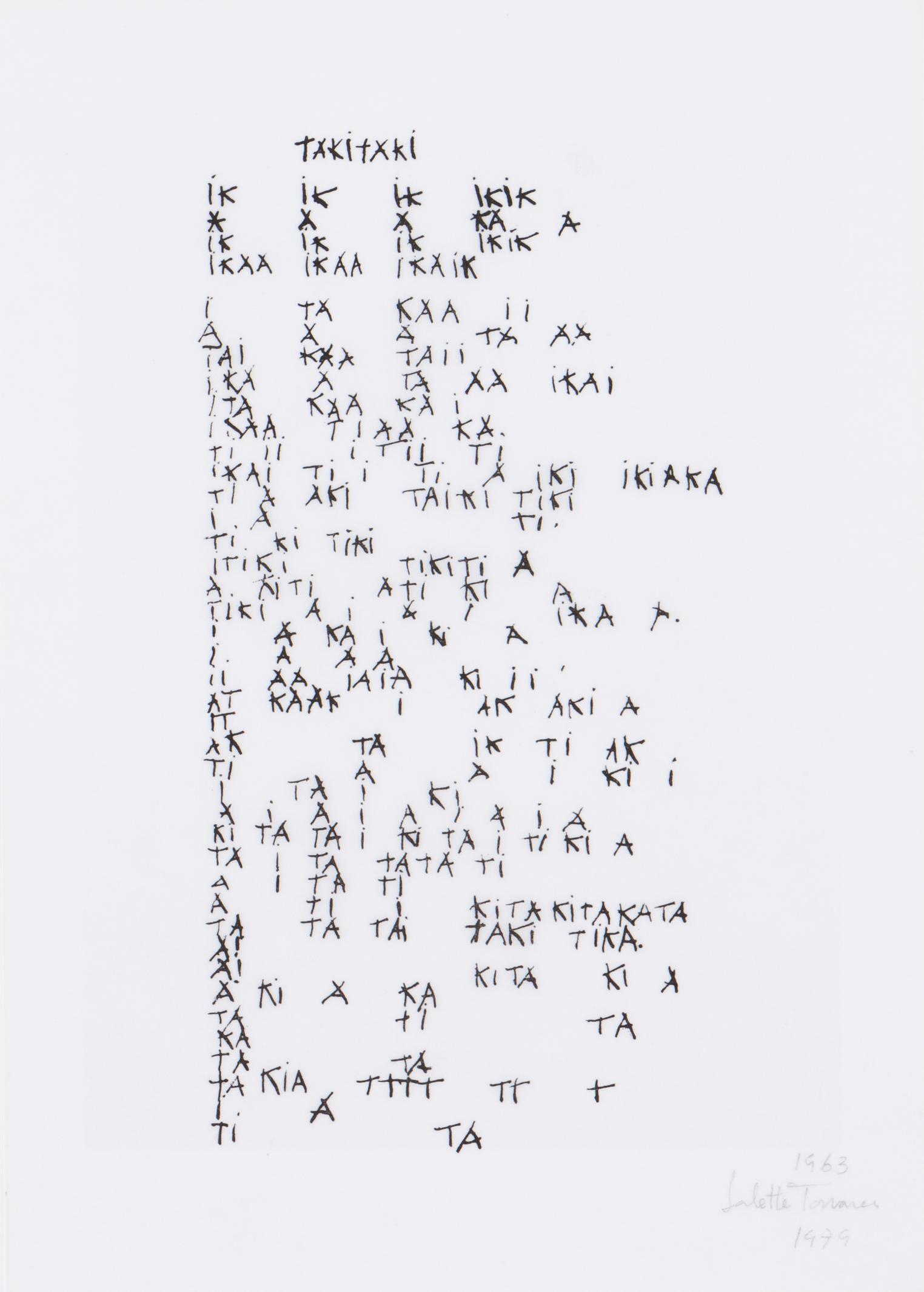Salette Tavares - Taki Taki (Kinetofonia/Kinetophonic Work)-1979