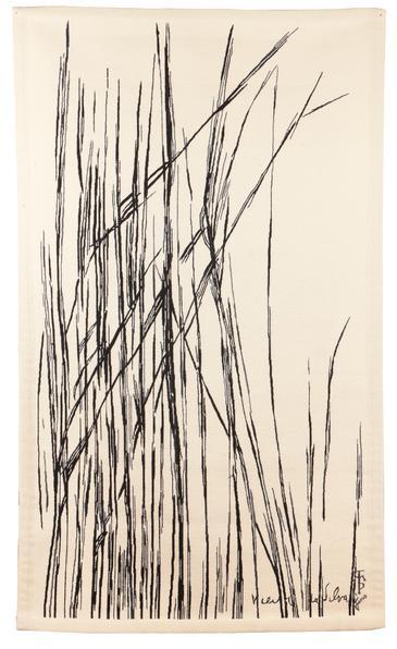 Maria Helena Vieira da Silva-Bambus-