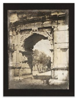 Joseph Philibert Girault De Prangey - 43. Rome Arc De Titus-1842