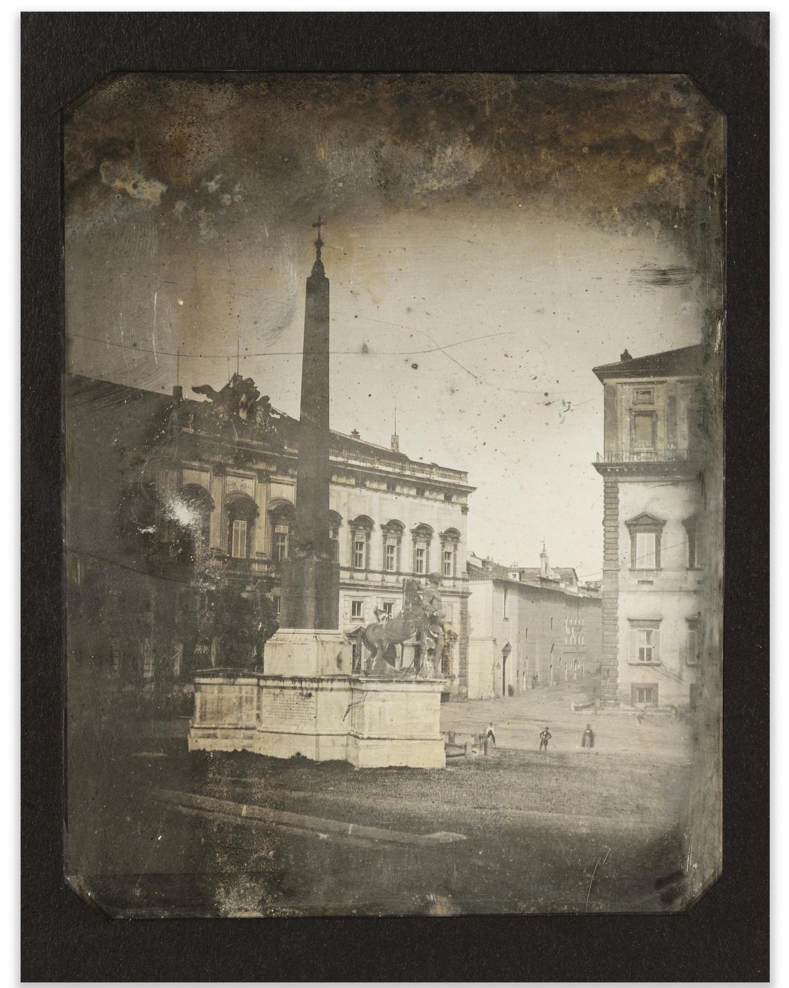 Joseph Philibert Girault De Prangey - 55. Rome, Quirinal, Fontaine-1842