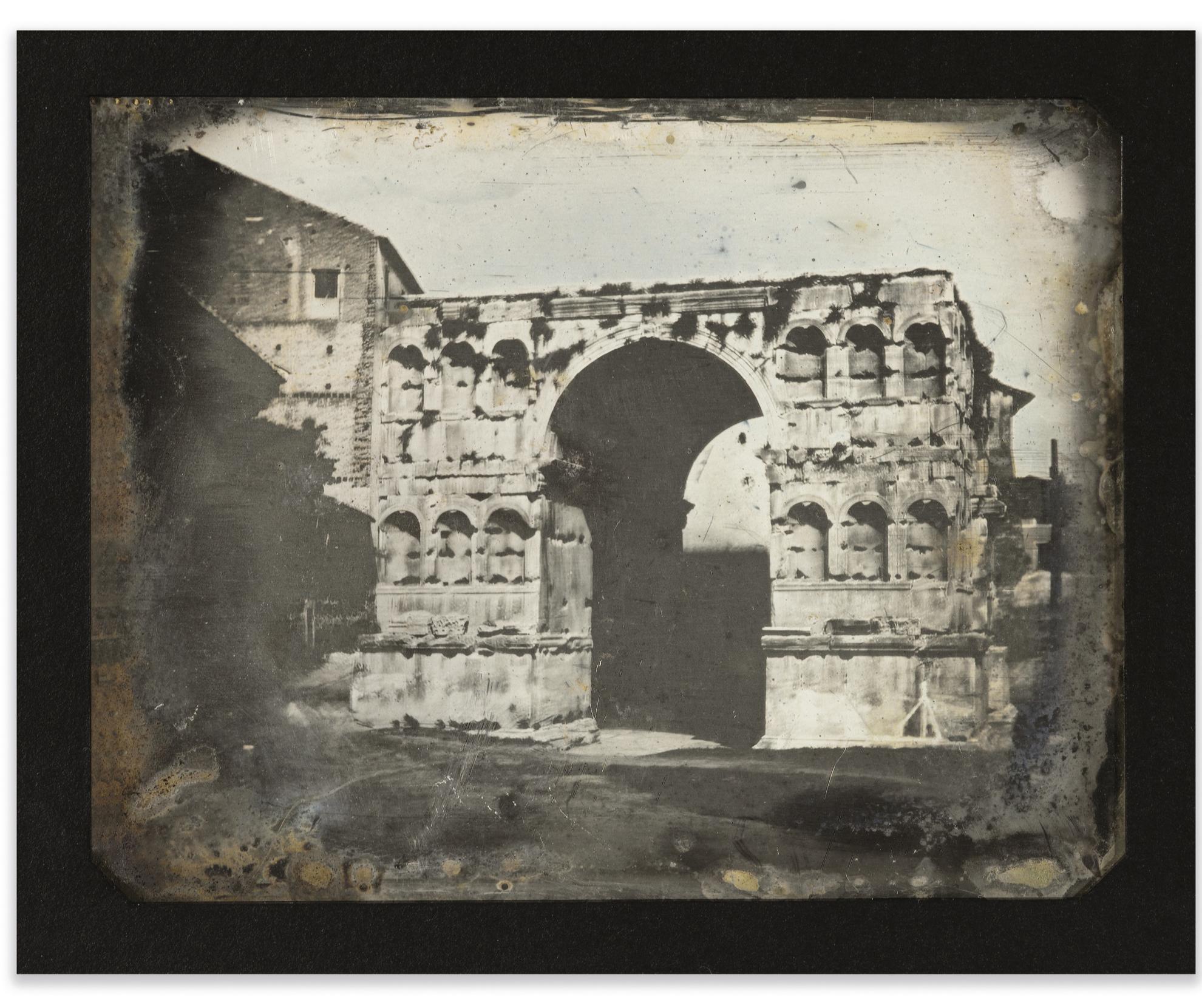 Joseph Philibert Girault De Prangey - 58. Rome, Arc De Janus-1842