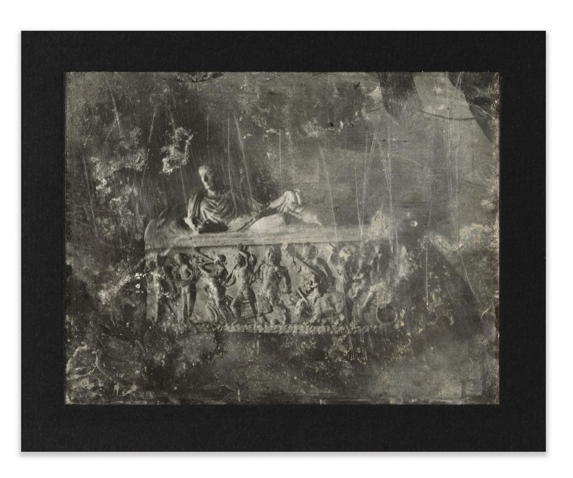 Joseph Philibert Girault De Prangey - 68. Pres Rome, V. Pacca, Bas-Relief-1842