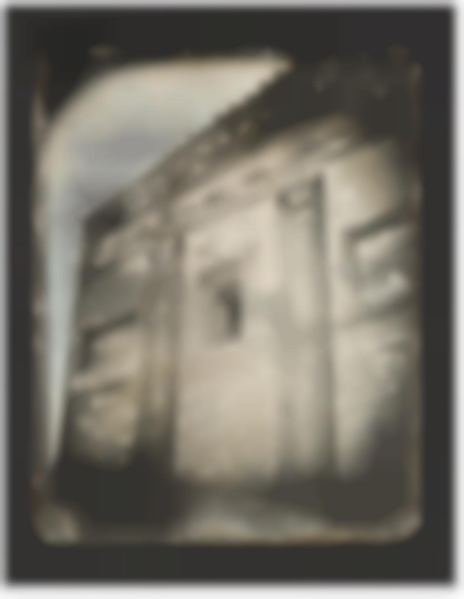 Joseph Philibert Girault De Prangey - 71. Pres Rome, Temple Del Dio Redicolo, Detail-1842
