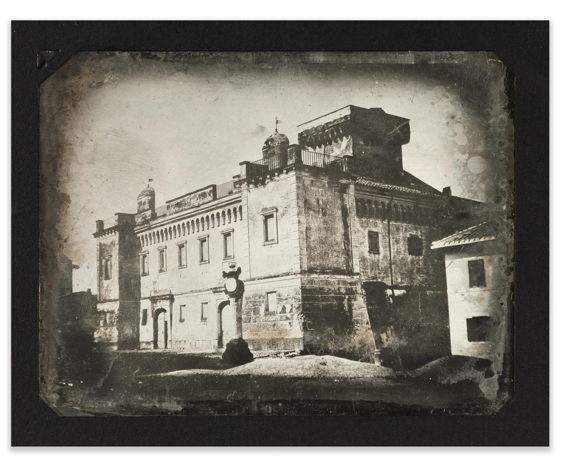 Joseph Philibert Girault De Prangey - 79. Frascati, Palais De Leveque-1842