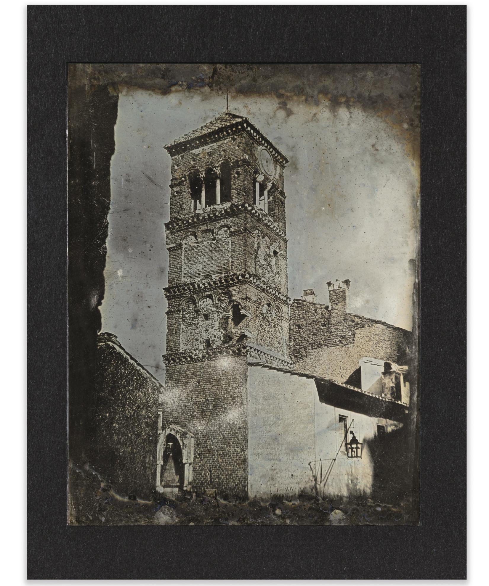 Joseph Philibert Girault De Prangey - 80. Frascati. Campanile ?-1842