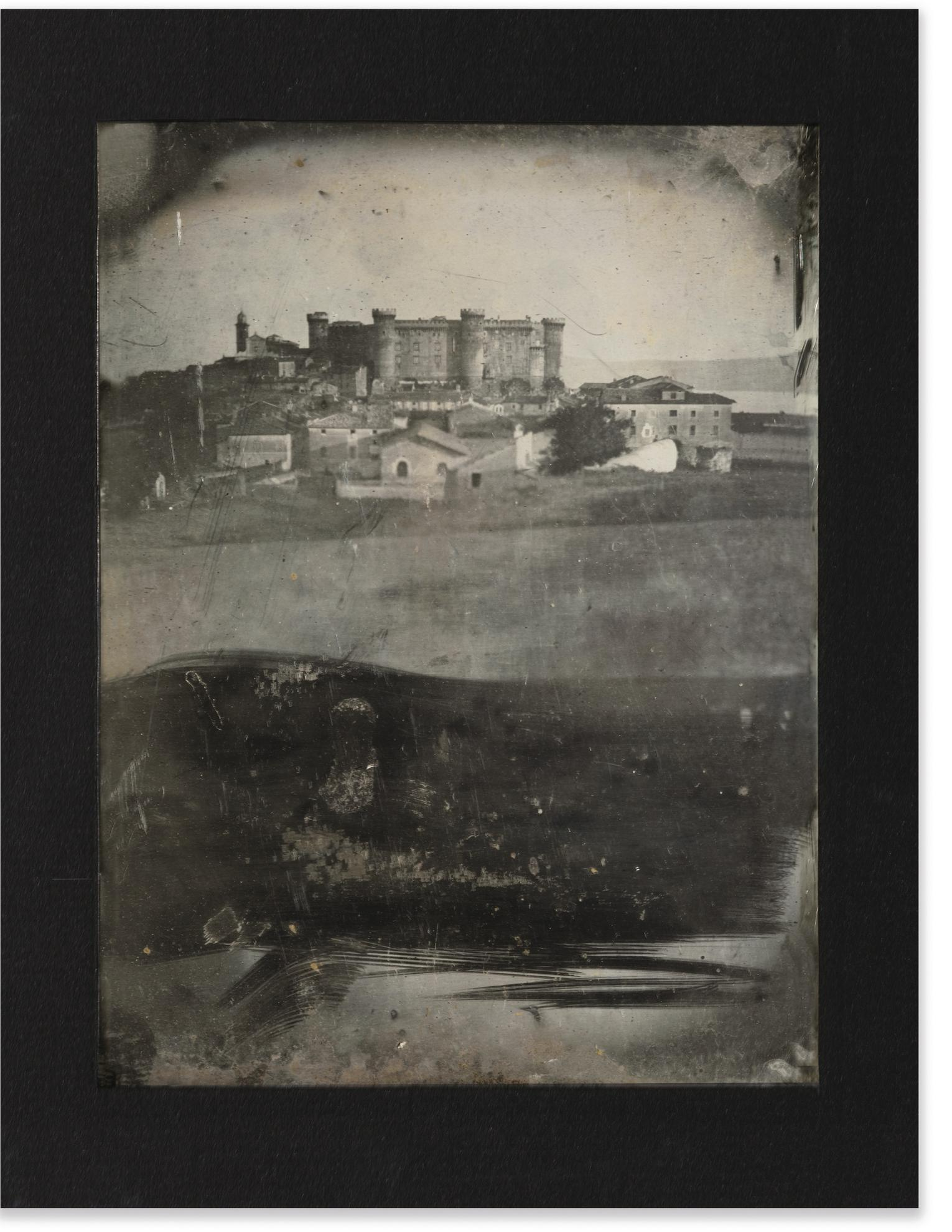Joseph Philibert Girault De Prangey - Le Chateau Orsini-Odescalchi, Bracciano-1842