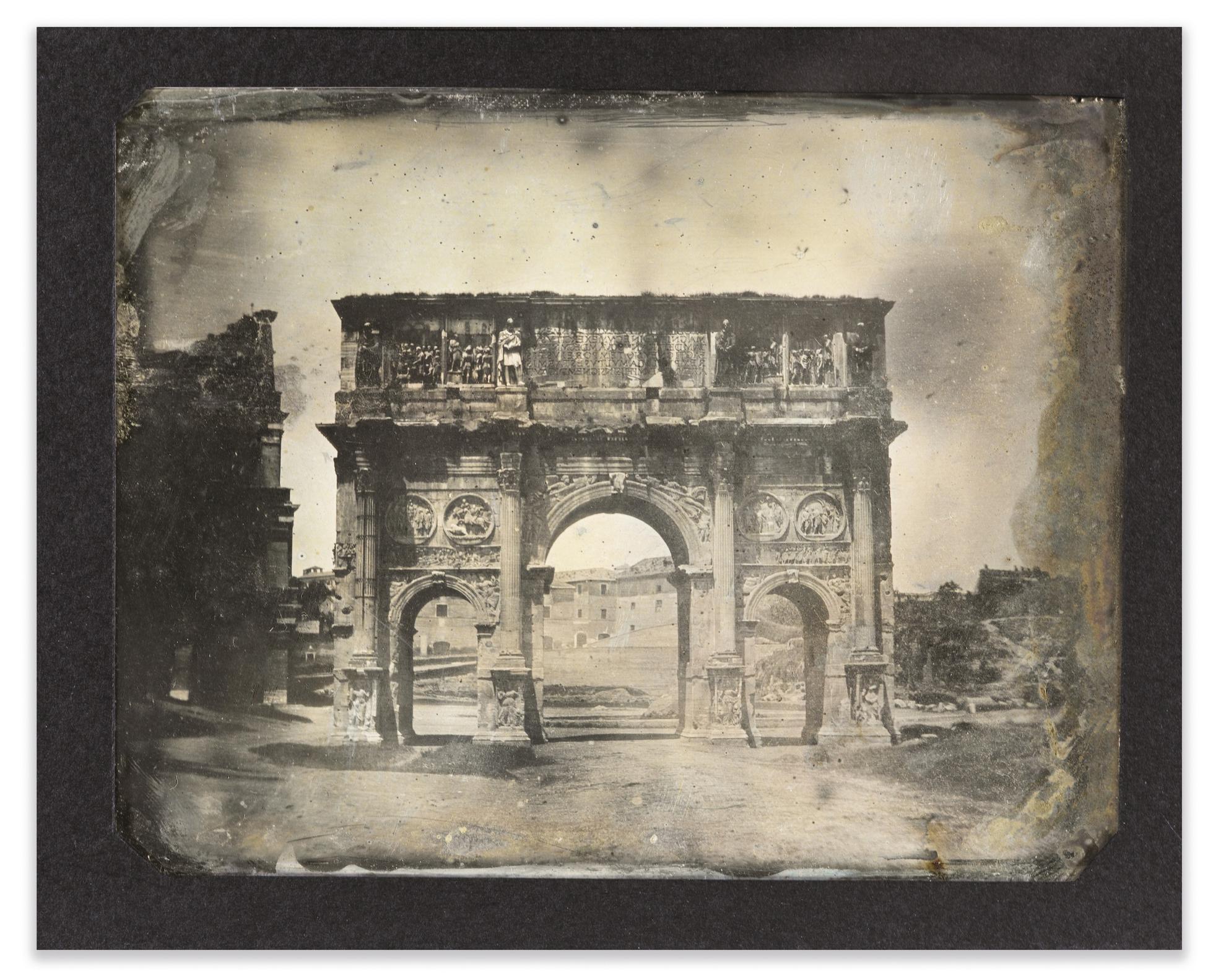 Joseph Philibert Girault De Prangey - 46. Rome Arc De Constantin-1842
