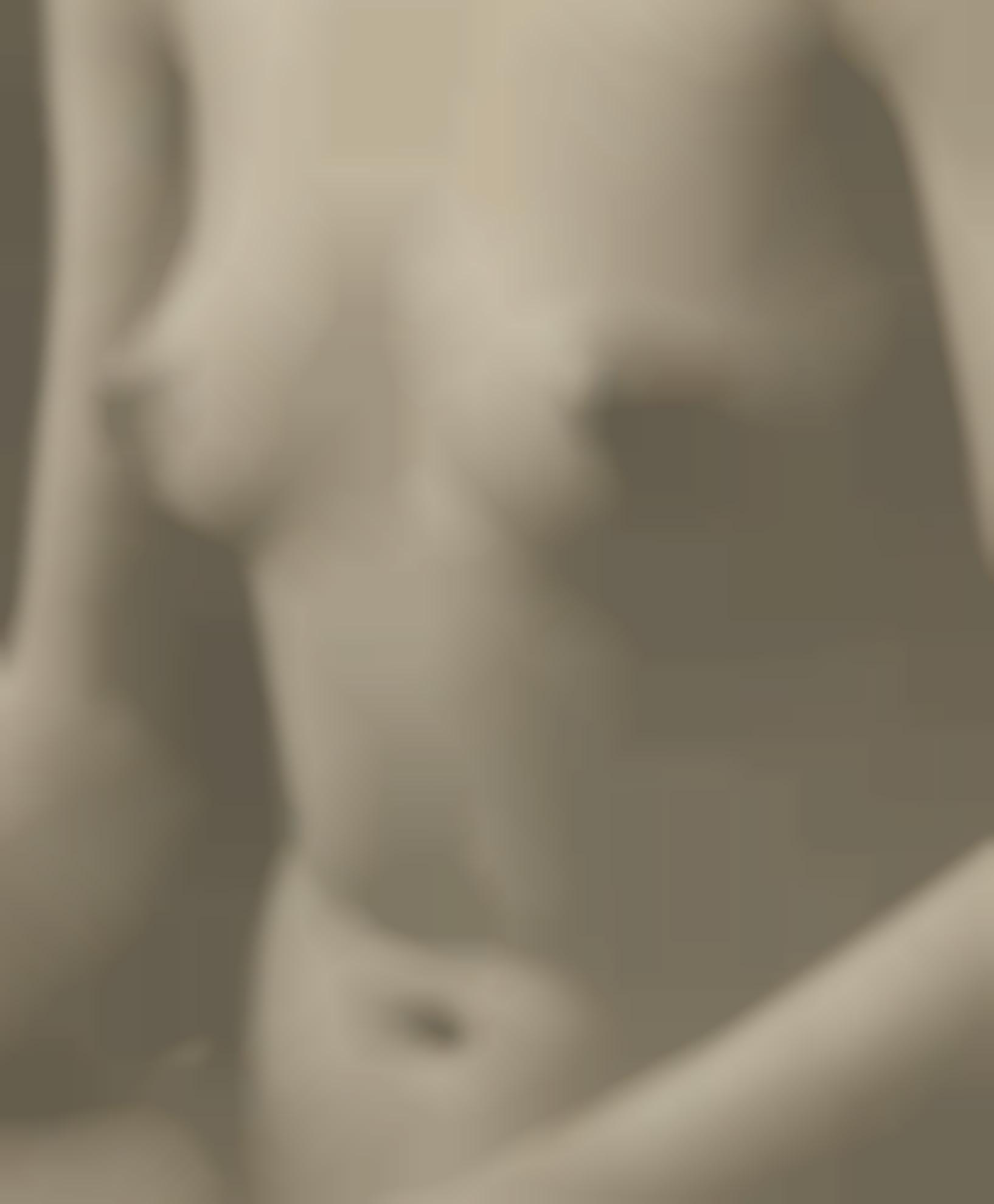 Paul Outerbridge-Nude Torso, Semi-Abstraction-1923
