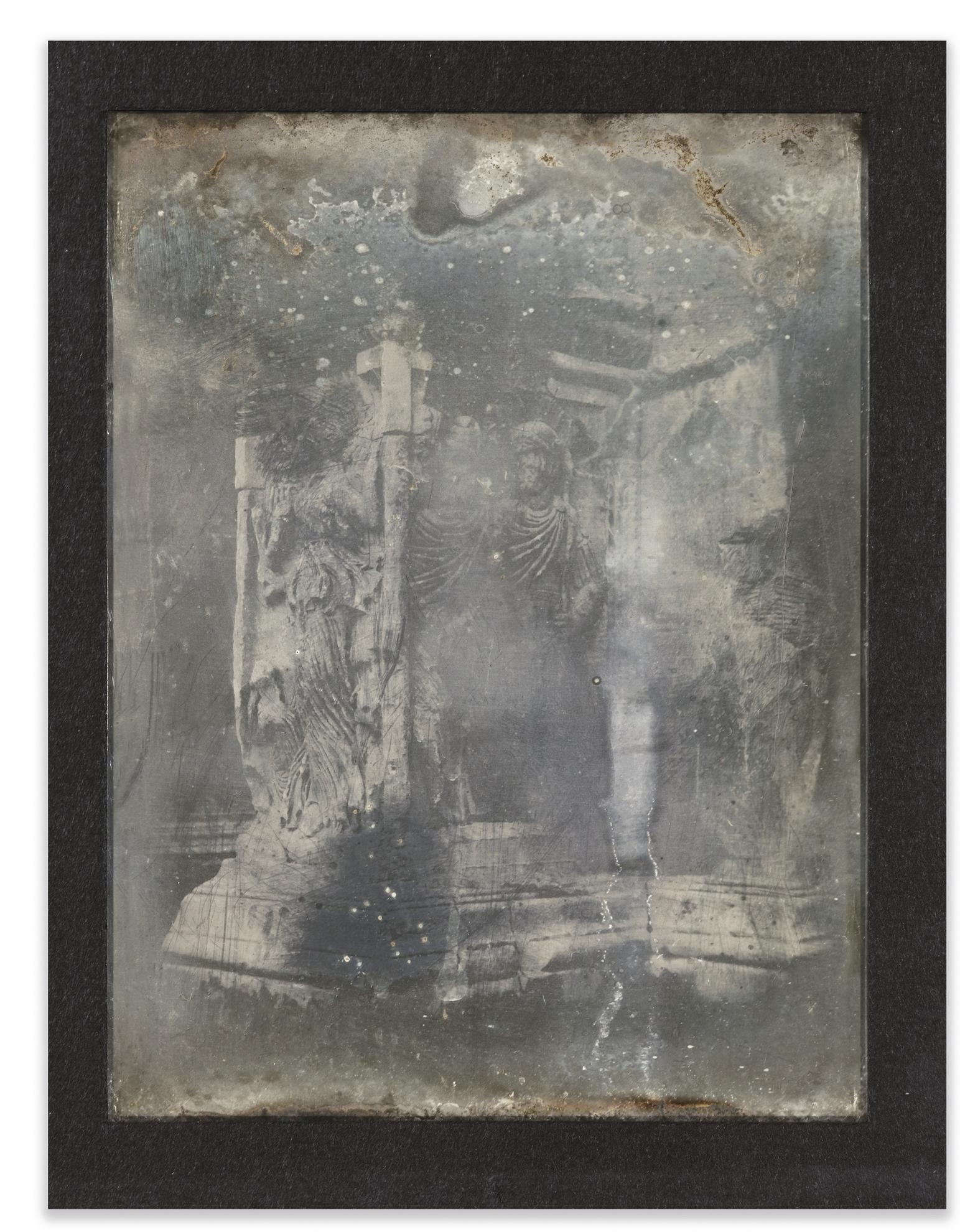 Joseph Philibert Girault De Prangey - 47. Rome Arc De Constantin, Base-1842