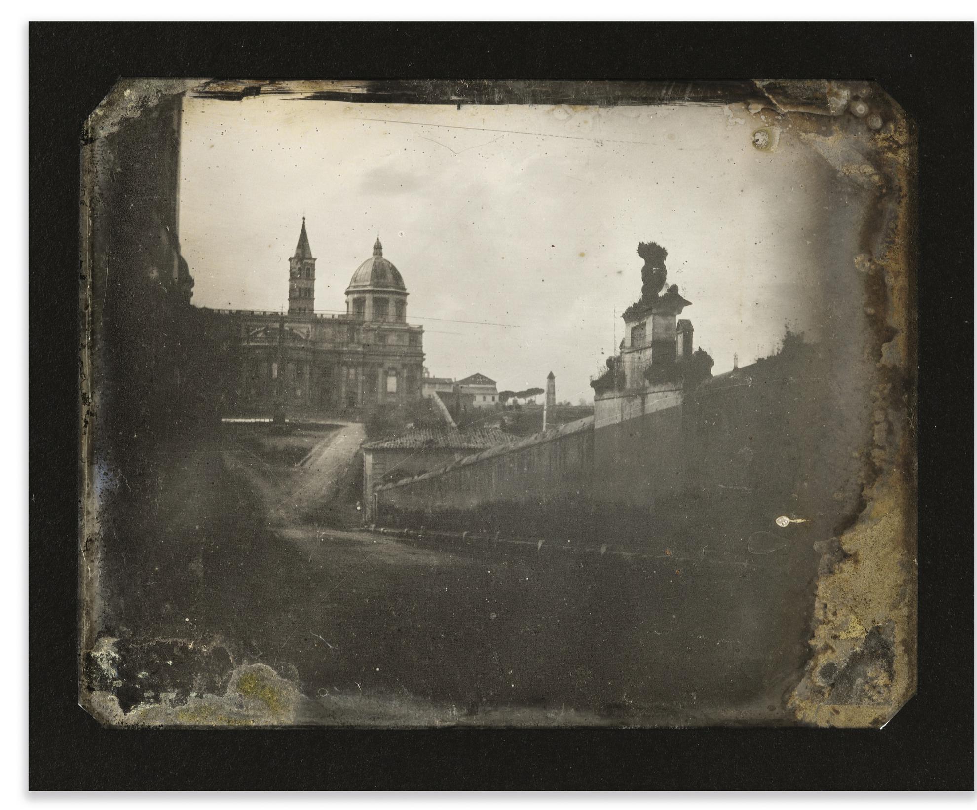 Joseph Philibert Girault De Prangey - 48. Rome, Santa Maria Maggiore-1842