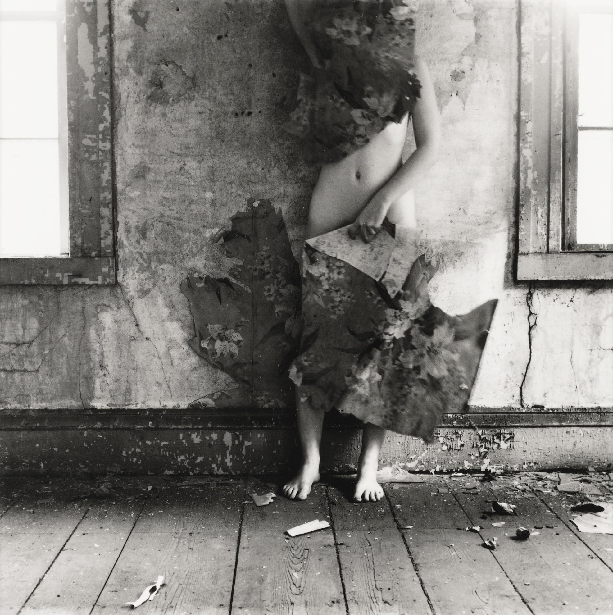 Francesca Woodman-Space2, Providence, Rhode Island-1976