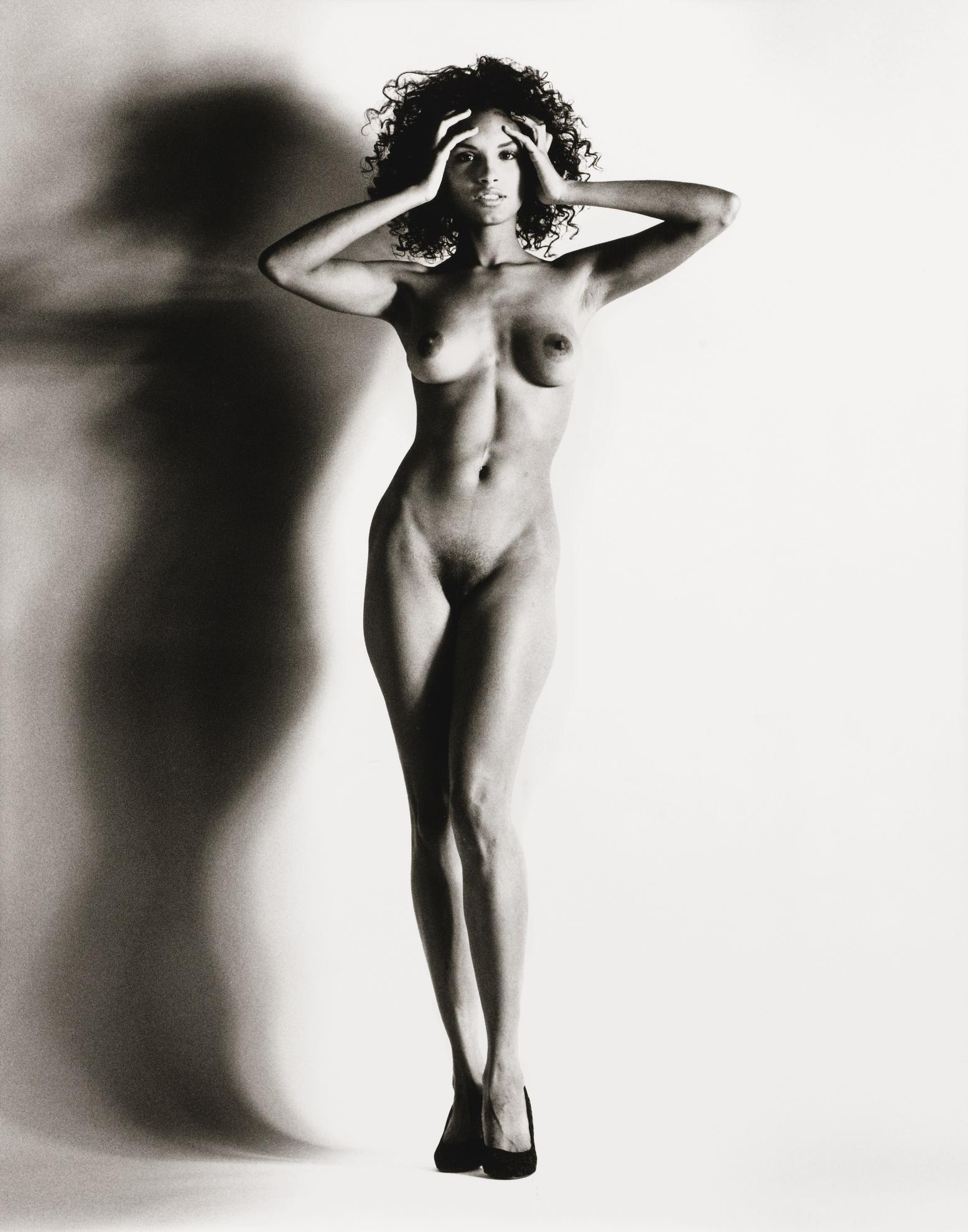 Helmut Newton-Big Nude Raquel, Nice-1993