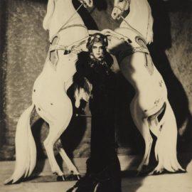 Man Ray-La Marquise Casati-1935