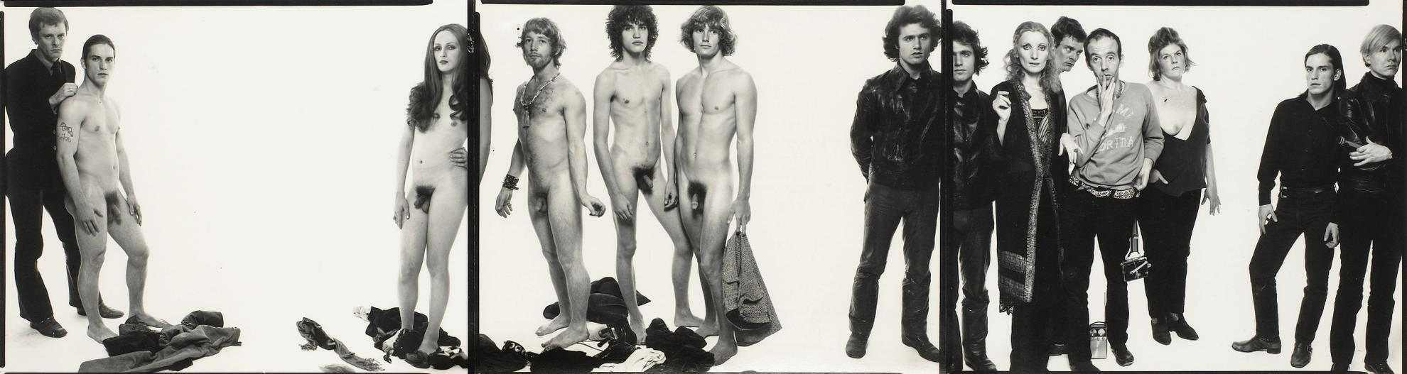 Richard Avedon-Andy Warhol And Members Of The Factory-1969