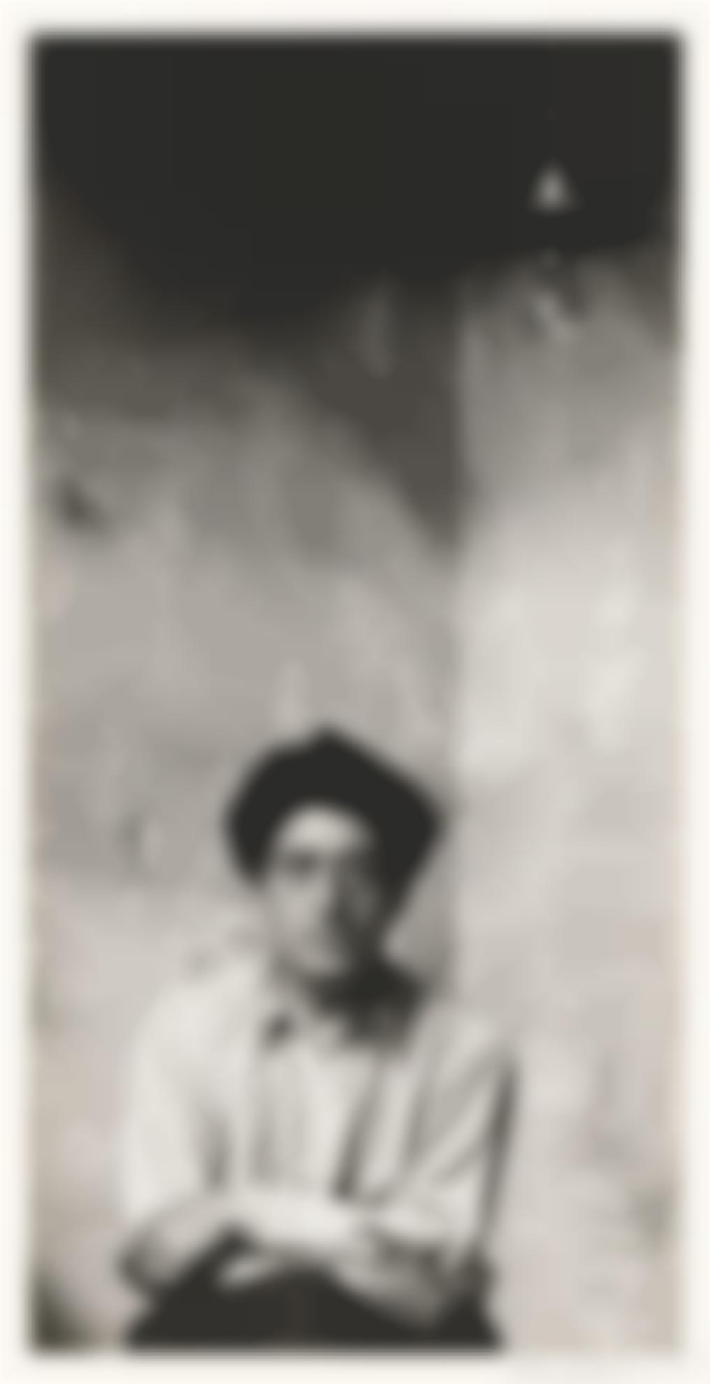 Arnold Newman-Alberto Giacometti-1954