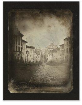 Joseph Philibert Girault De Prangey - 50. Rome Pres Santa Maria Maggiore-1842