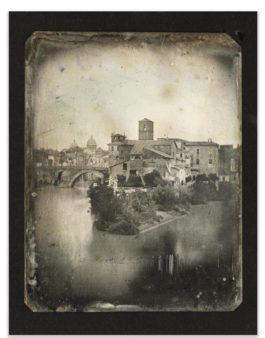 Joseph Philibert Girault De Prangey - 52. Rome, Isola San Bartholomeo-1842