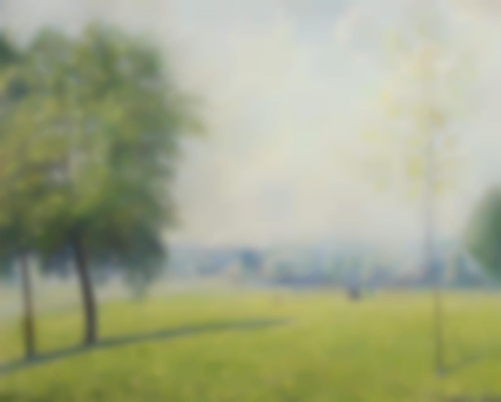 Camille Pissarro-Primrose Hill, Londres-1892