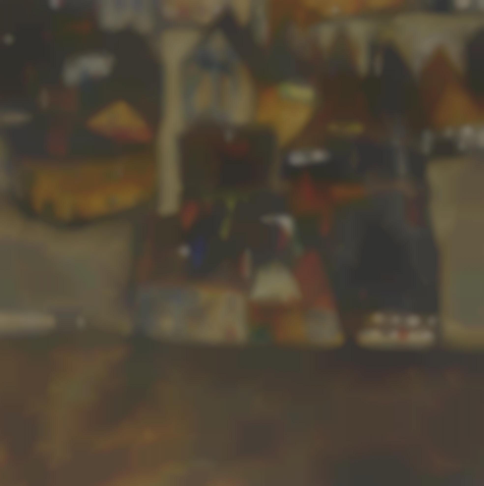 Egon Schiele-Dammernde Stadt (Die Kleine Stadt II) (City In Twilight (The Small City II))-1913