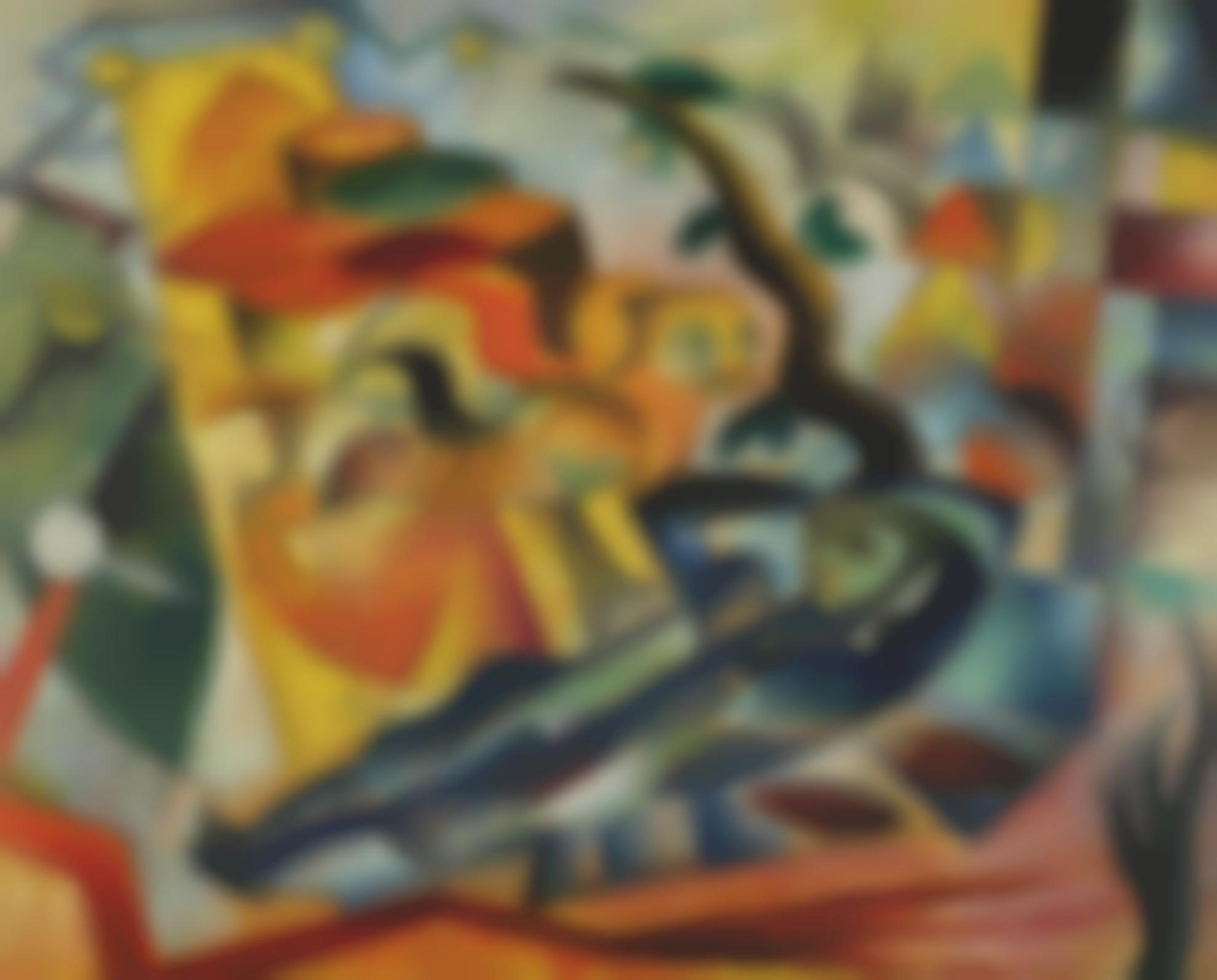 Heinrich Campendonk-Der Traum (The Dream)-1914