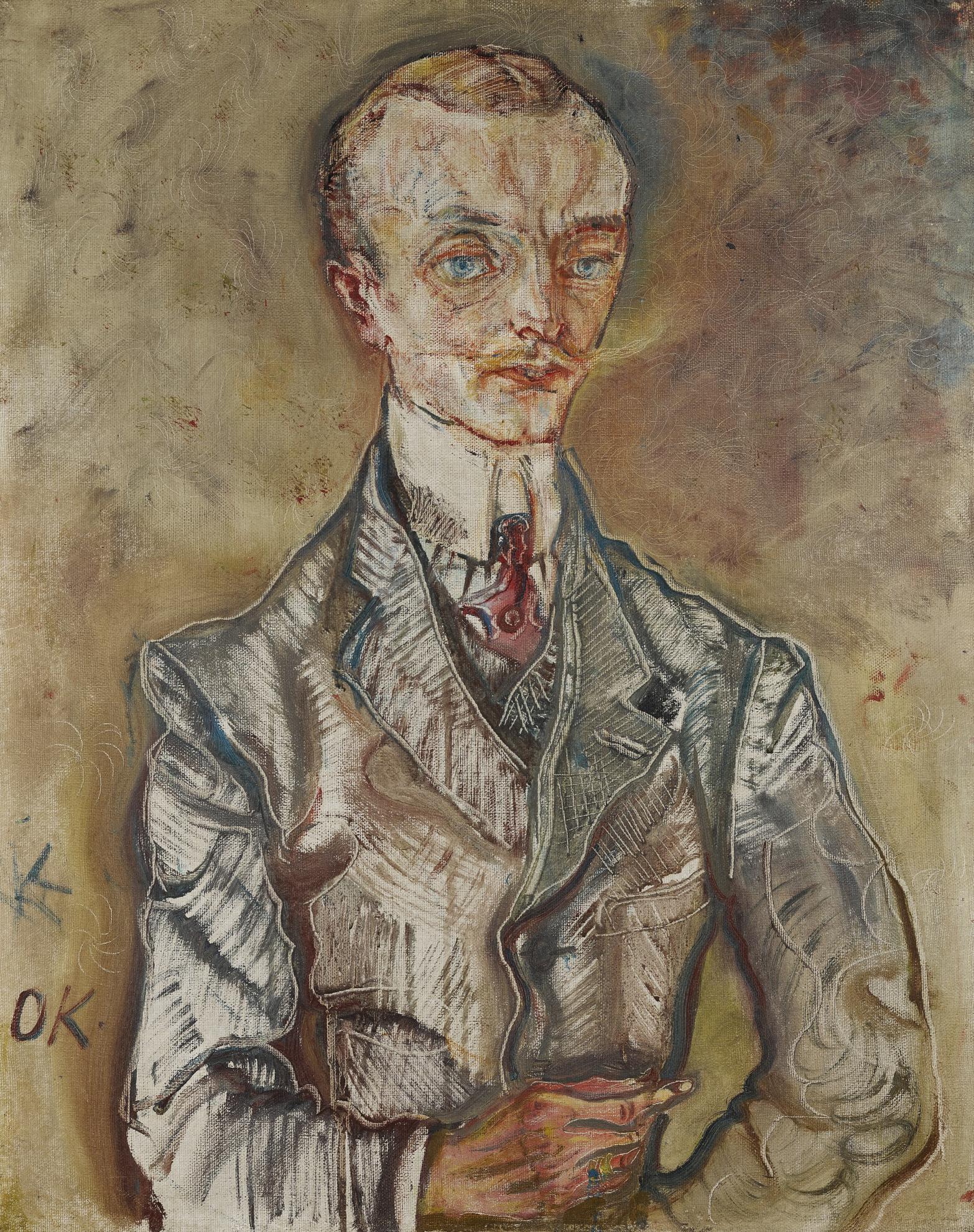 Oskar Kokoschka-Joseph De Montesquiou-Fezensac-1910